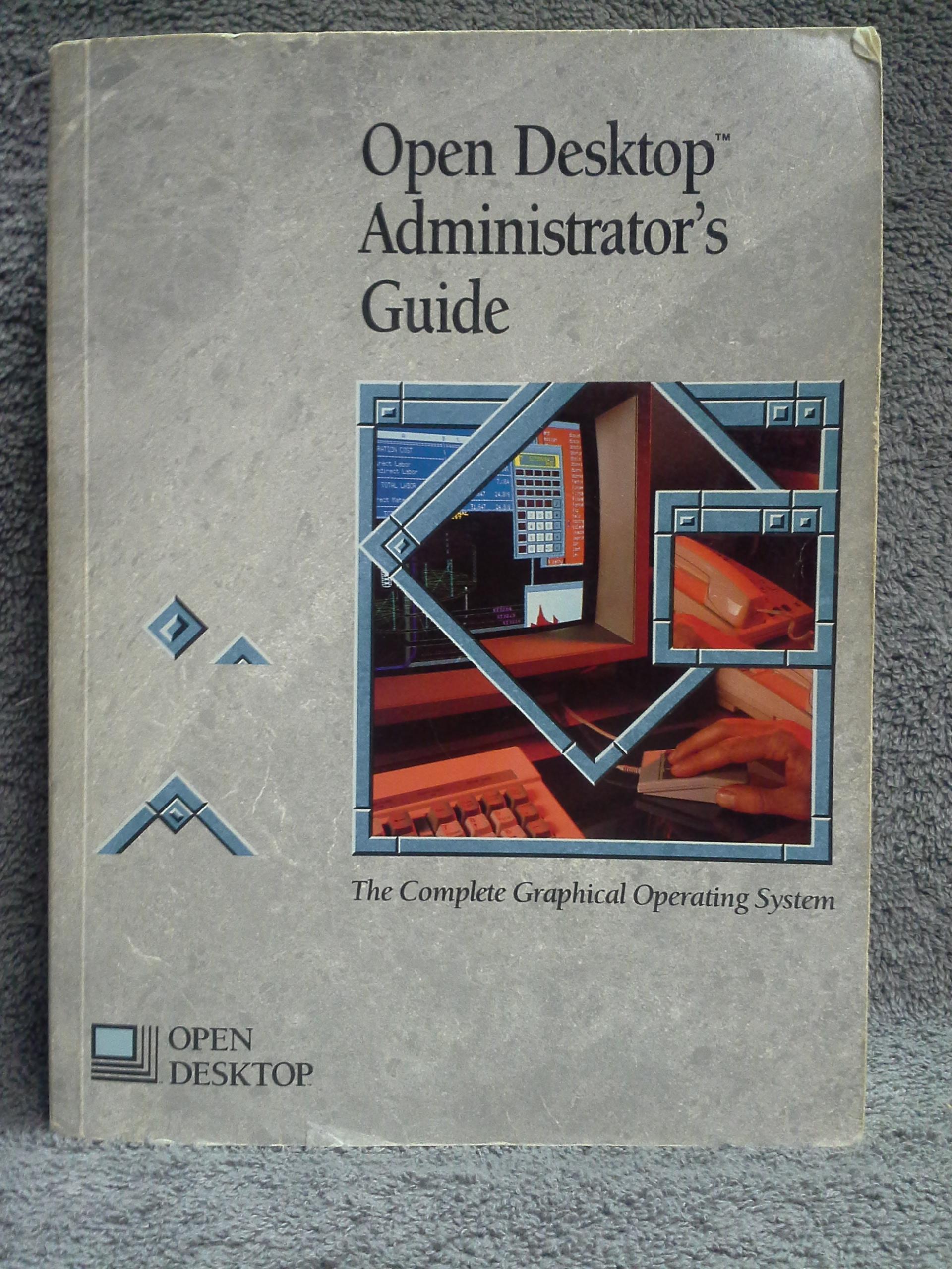 sco unix open desktop manual lot c santa cruz operations sco unix open desktop manual library 1989